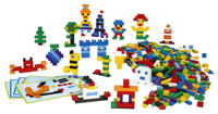 LEGO® Education Kreativt set med klossar