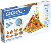 Geomag Classic Panels 78pcs recycled